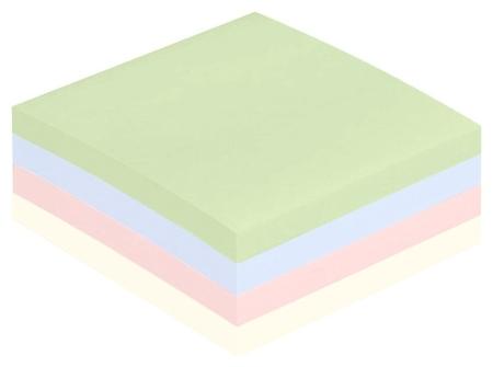 Блок-кубик Attache куб 51х51, пастель 4 цвета 400 л  Attache