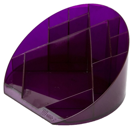 Подставка Attache яркий офис 12 отделений прозрачный слива  Attache