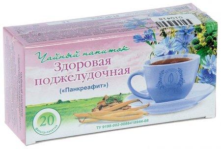 """Травяной чай """"Здоровая поджелудочная"""" (""""Панкреафит"""")"""