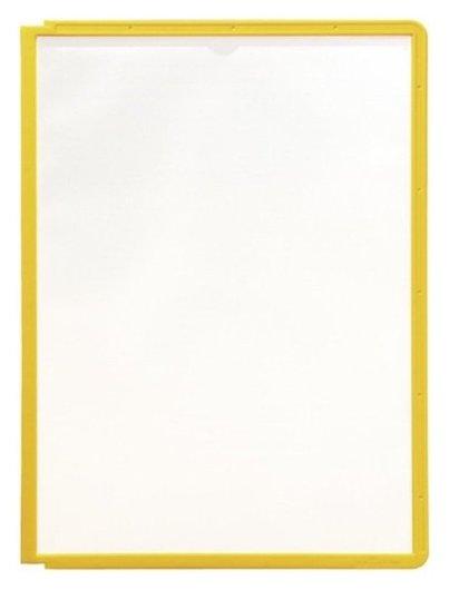Демо-система панель Durable 5606-04 желтая для демо-системы упк/5шт.  Durable