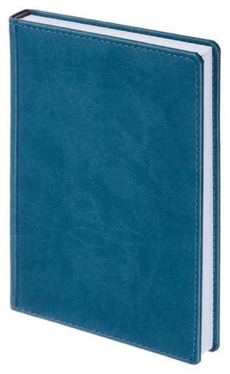 Ежедневник недатированный бирюзовый,а5,143х210мм,176л,attache сиам  Attache