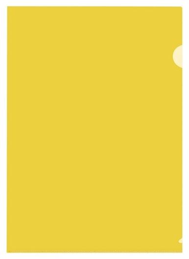 Папка уголок, 150 мкм, желтый 10 шт/уп россия  Attache