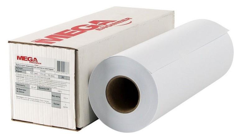 Бумага широкоформатная Promega Engineer Inkjet 70г 420ммх175 76мм  ProMEGA