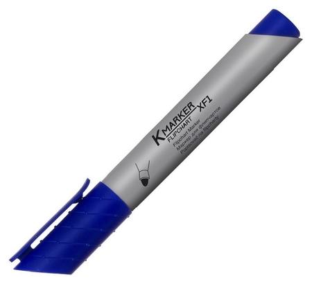 Маркер по бумаге (Флипчарт) Kores XF1 синий 21303  Kores