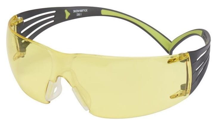 Очки защитные открытые 3М Securefit 400 желтые (Арт произв Sf403af-eu)  3M