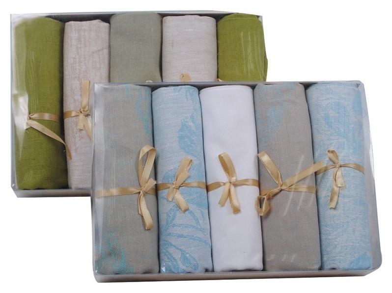 Набор полотенец льняных Лаура 50х70 см  NNB