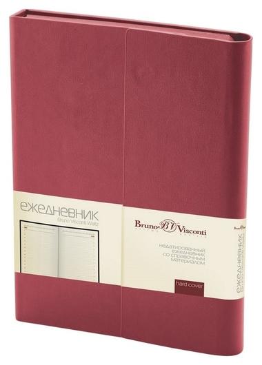 Ежедневник недатированный А5, 176л, с магн. клапаном, Waltz, борд 3-543/03  Bruno Visconti