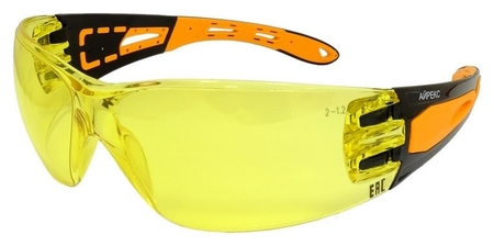 Очки защитные открытые росомз O16 айрекс Nordglass желтые (Арт произ 11657)  Росомз