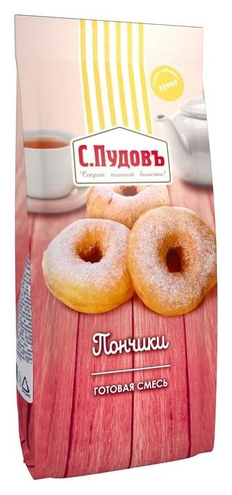 Смесь готовая смесь пончики с.пудовъ, пленка, 400г  С.Пудовъ