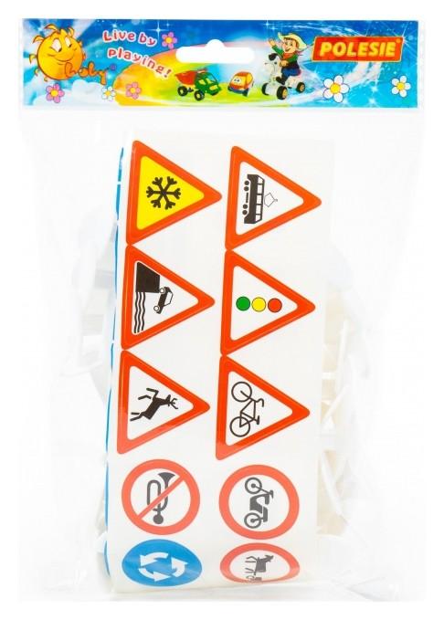 Набор дорожных знаков №3 (24 элемента) пакет арт.64219  Полесье