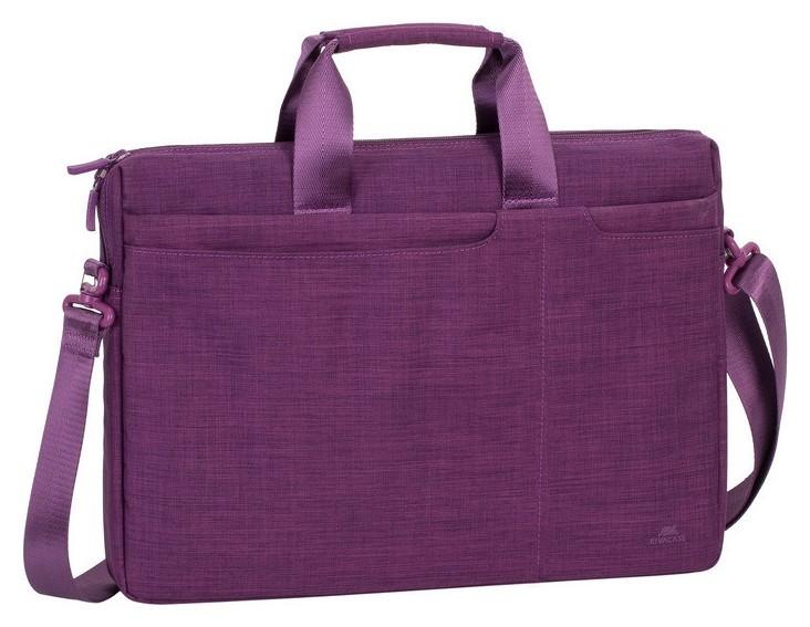 Сумка для ноутбука 15.6, Rivacase Biscayne, фиолетовая, 8335 Purple  RIVACASE