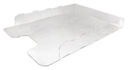 Лоток для бумаг А3, акрил, прозрачный 55х300х420  Attache