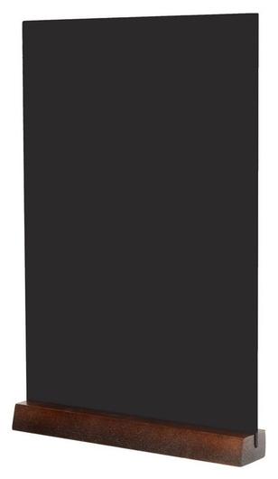 Табличка меловая настольная Attache А4 вертик. на деревянной подставке  Attache