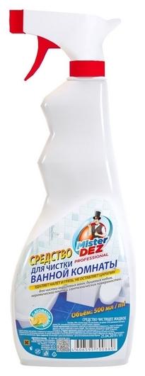 Средство для сантехники, акриловых ванн и душевых кабин с ароматом дыни  Mister Dez