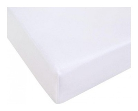 Простынь трикотажная на резинке 140х200х20,125гр/м2,белый  NNB