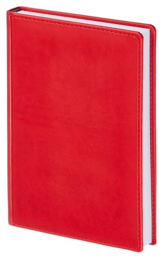 Ежедневник недатированный красный,а5,143х210мм,176л,attache сиам  Attache