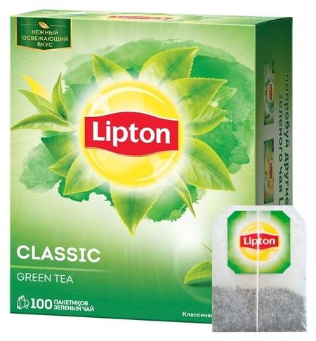 Чай Lipton Green зел. 100 пак/уп  Lipton