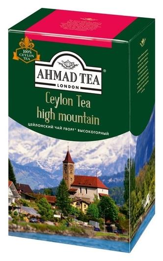 Чай Ahmad Tea цейлонский Fbopf черный 100г 1306-3  Ahmad Tea