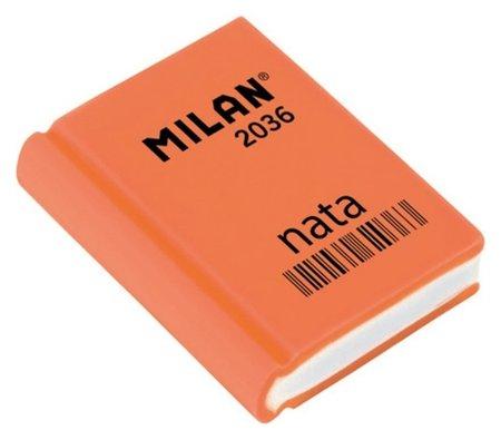 Ластик пластиковый Milan 2036 в форме книжки, цв. в ассорт  Milan