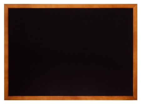 Доска меловая (Грифельная) Attache А3, черная, в дер.раме  Attache