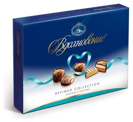 Набор конфет вдохновение пралине с орехами,170гр  Бабаевский