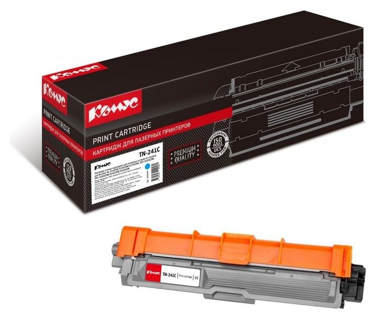 Картридж лазерный комус Tn-241c гол. для Brotherhl-3140/dcp-9020  Комус