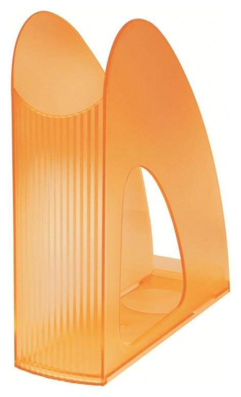 Вертикальный накопитель 76мм HAN Twin прозрачно-оранжевый арт.на1611/61  Han
