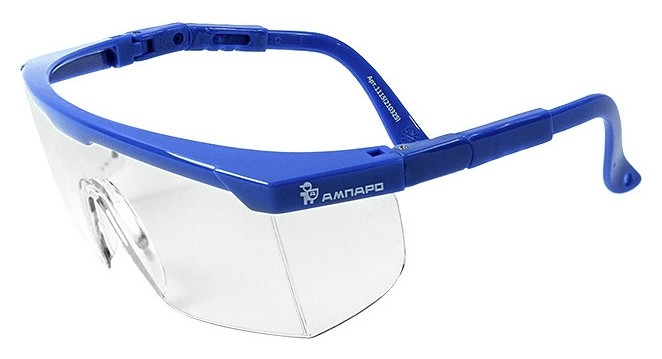 Очки защитные открытые ампаро пегас прозрачные (Арт произв 210325)  Ампаро