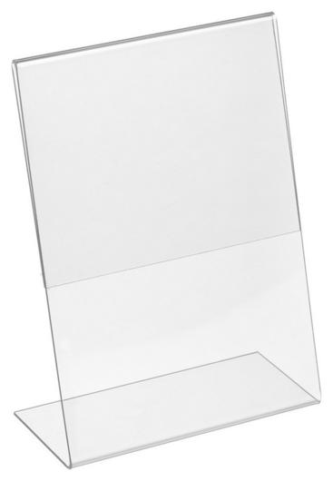 Подставка настольная Attache А5 210х148 вертикальная односторонняя акрил  Attache