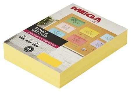 Бумага цветная Promega Jet (А4,80г,желтый интенсив) пачка 500л  ProMEGA