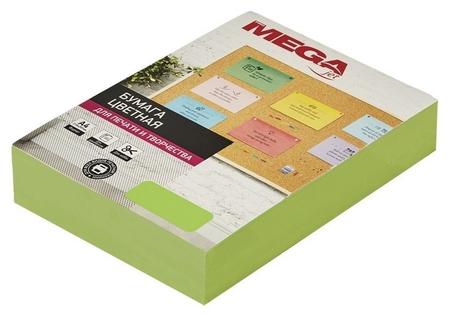 Бумага цветная Promega Jet (А4,75г,зеленый неон) пачка 500л  ProMEGA
