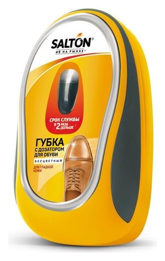 Губка с дозатором для обуви из гладкой кожи бесцветный (24) 52/34  Salton