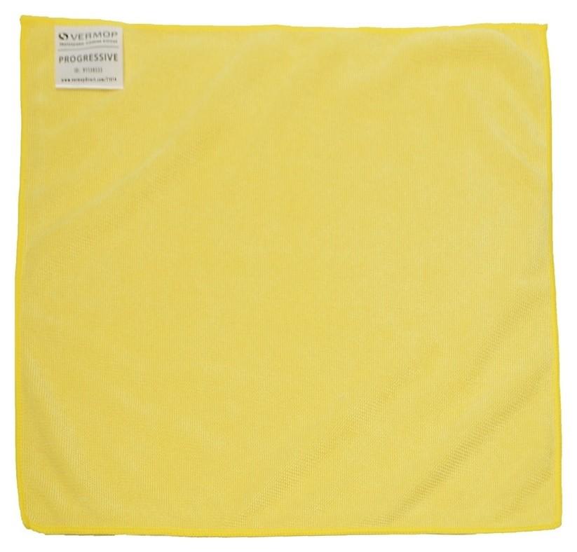 Салфетки хозяйственные Vermop Progressive микров 38х40см 853305 желт 3шт/уп  Vermop