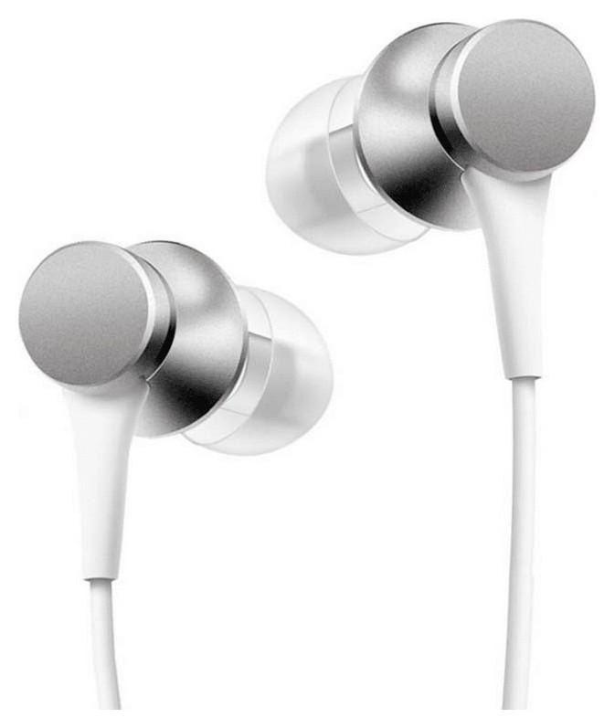 Наушники Xiaomi Mi In-ear Headphones Basic (Silver) (zbw4355ty)  Xiaomi
