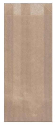 Пакет бумажный 80x220, крафт, коричнеый, 500 шт/уп  NNB