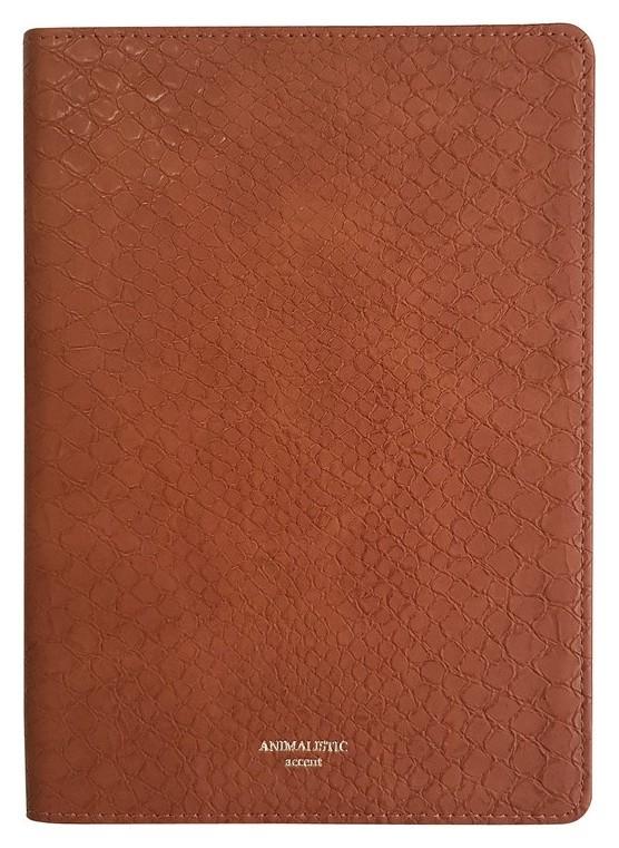 Ежедневник датированный 2021, коричнев, А5, 176л., Animalistic I904/brown  InFolio