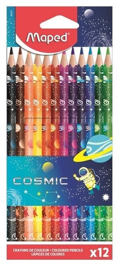 Карандаши цветные Color peps Cosmic 12 цветов  Maped