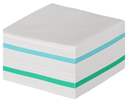 Блок для записей Attache Economy на склейке 9х9х5 цветной 65 гр 92 Attache