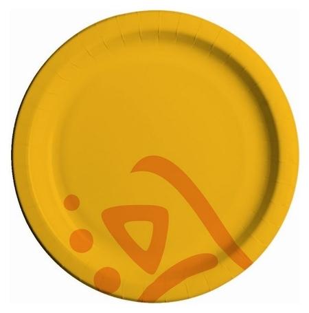Тарелка одноразовая бумажная Whizz D=23 см, 50 шт/уп.  Huhtamaki
