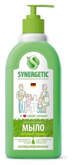 Мыло жидкое Synergetic для рук  Synergetic