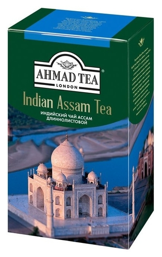 Чай Ahmad Tea ассам черный длиннолистовой 100г1379-2  Ahmad Tea