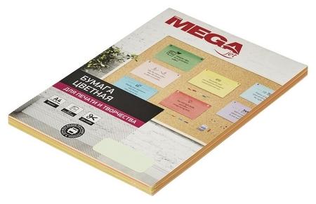 Бумага цветная Promega Jet (А4,80г, пастель) пачка 100л  ProMEGA