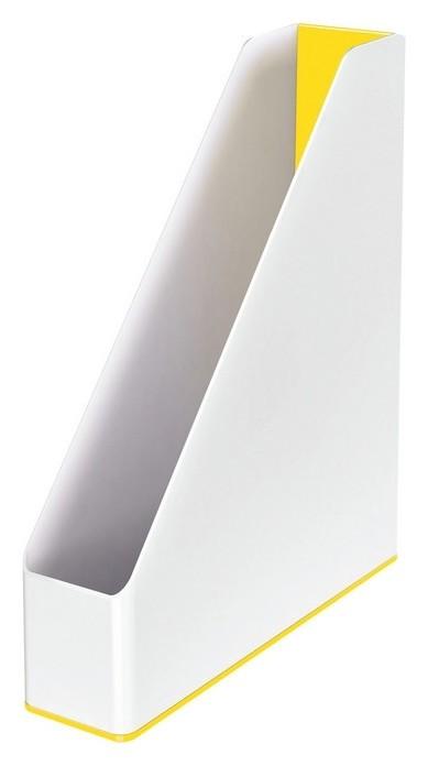 Вертикальный накопитель Leitz WOW 73мм двухцветный 53621016 желтый/белый  Leitz