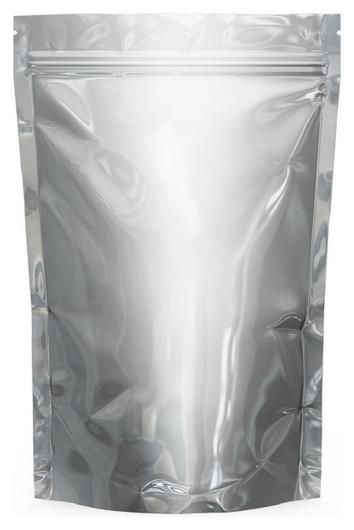 Пакет дой-пак металлизированный Zip Lock 92мкм 135x200+(40+40) мм 300шт/уп  Aviora