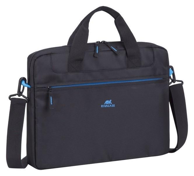 Сумка для ноутбука 14.0, Rivacase Regent, черная, 8027 Black  RIVACASE