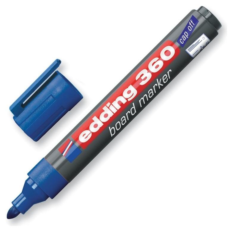 Маркер для досок Edding E-360/3 синий 1,5-3 мм  Edding