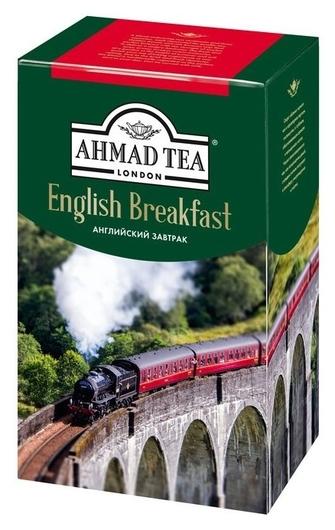 Чай Ahmad Tea английский завтрак 100г 1301-2  Ahmad Tea