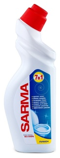 Средство для сантехники сарма лимон 750мл  Sarma