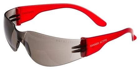 Очки защитные открытые росомз О15 Hammer Active затемненные (11562)  Росомз