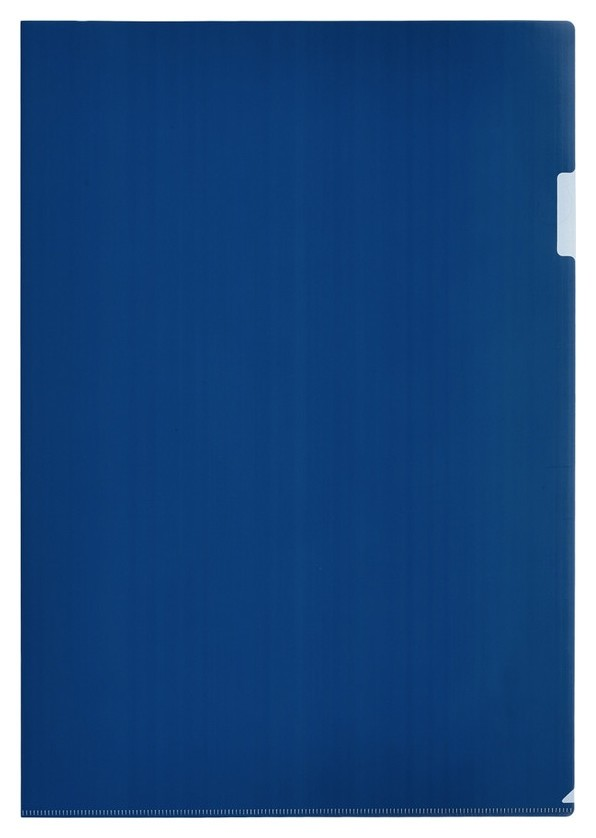 Папка уголок Attache формат А3 180мкм сини. в уп.20шт  Attache